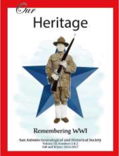 WWI Our Heritage issue